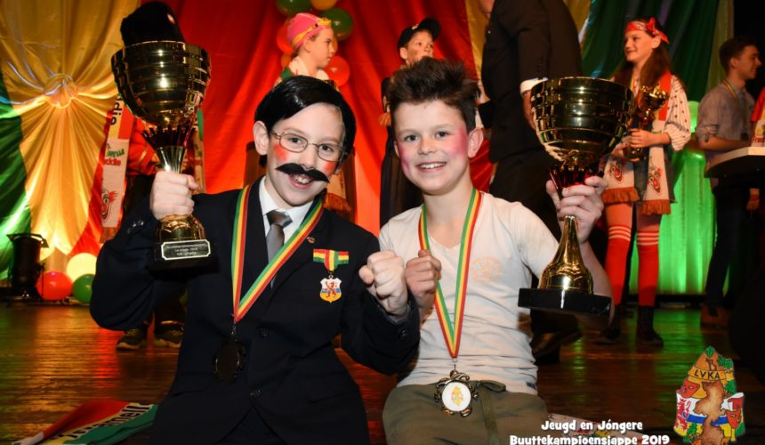 Sem de Wilde en Dylano Driessens Jeugd en Jóngere kampioen 2019
